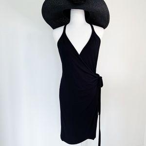 BCBG Black Wrap Tank Dress.